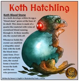 Koth Hatchling (bloodstone)