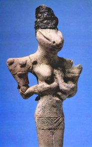 Ubaid Reptile Statue